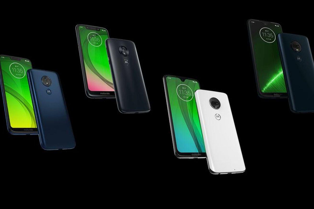 The entire Moto G7 line leaked on Motorola's website