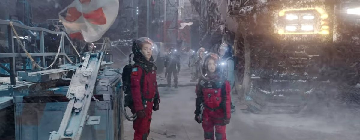 China's blockbuster The Wandering Earth is rich, gorgeous, and goofy