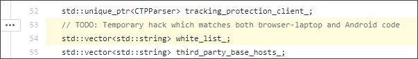Whitelist variable