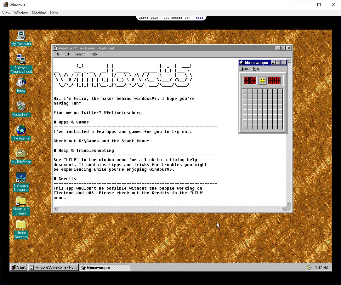 Windows95 Version 2