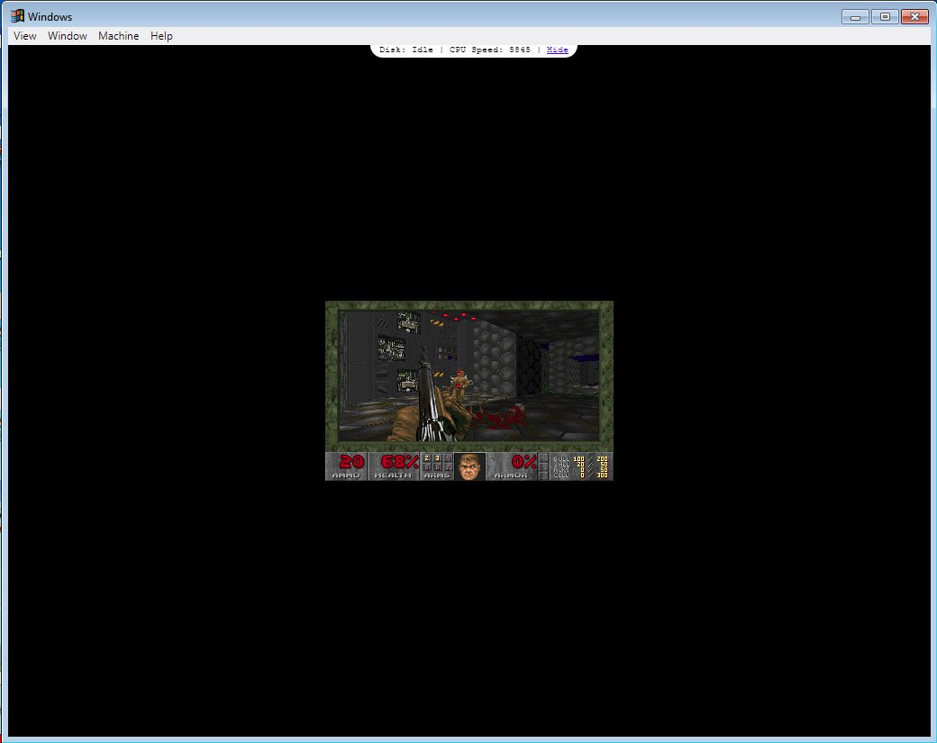 Doom in Windows05 Version 2